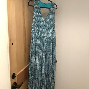 NWT Maeve for Anthro sleeveless jersey maxi dress
